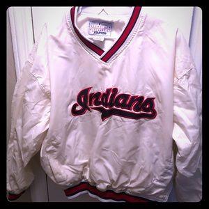 Cleveland Indians Vintage Pullover Starter Jacket